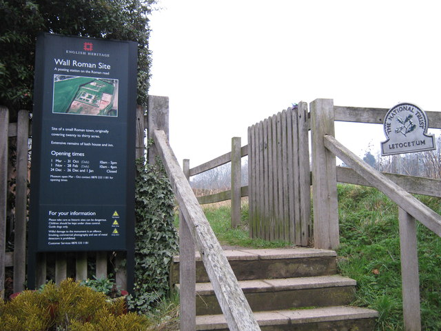 English Heritage site at Wall