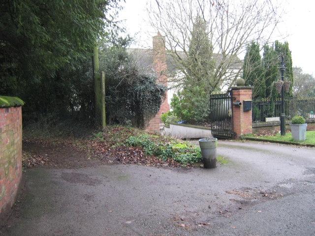 Public footpath, Wall