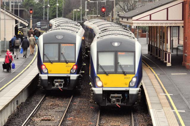 New trains, Whitehead