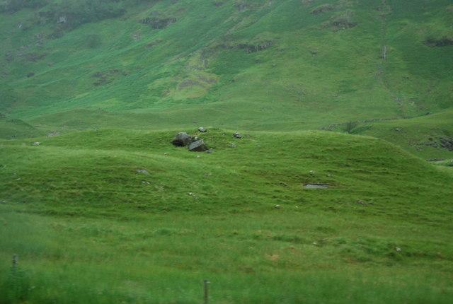 Hummocky moraine in Glencoe