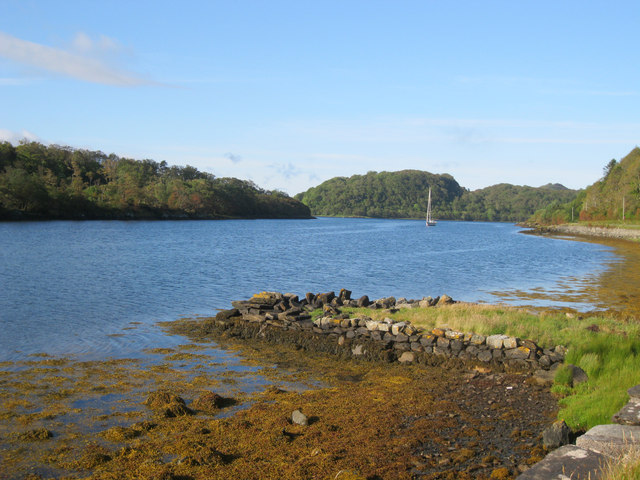Old jetty at Scotnish