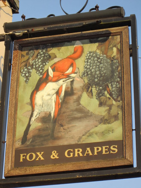 The Fox and Grapes on Smalewell Road, Pudsey