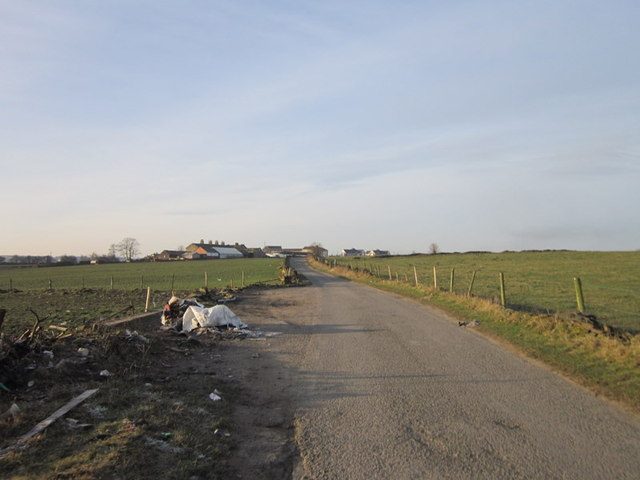 Fly tipping on Tyersal Lane