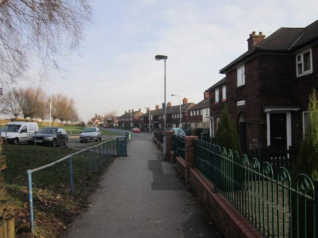 Sutton Crescent, Tyersal