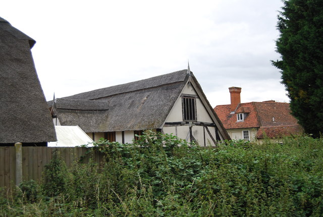 Thatched building, The Friars