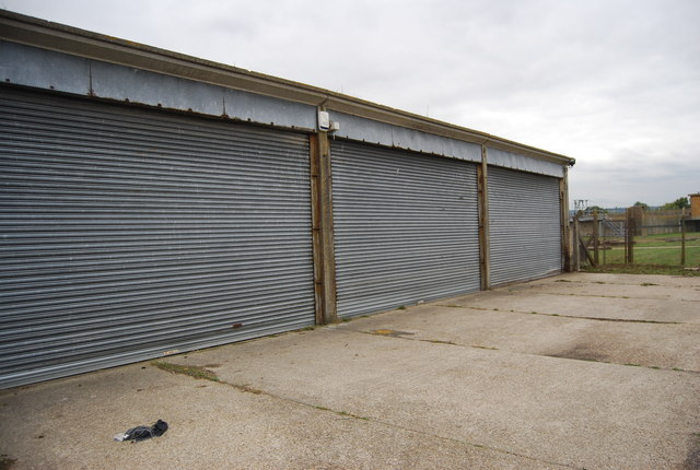 Row of garages