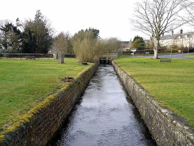 Whittle Dene Watercourse, Matfen Village Green