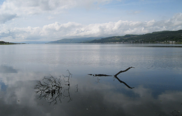 Loch Gilp at high water