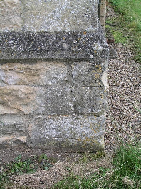 Cut Mark: Swinderby, All Saints Church