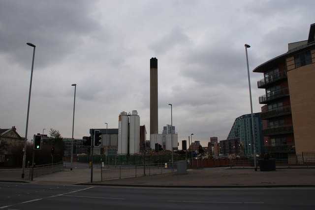 Demolition of Tetleys Brewery