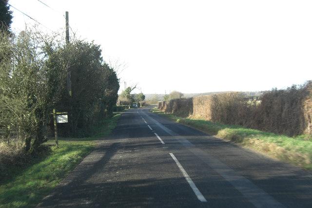 B2067 north of Willow Cott Farm