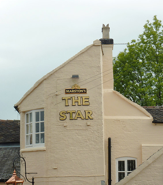The Star at Stone (detail), Staffordshire