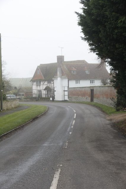 Farm on the bend