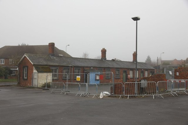 Old railway buildings at Didcot