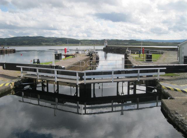 Lock No. 1 Crinan Canal