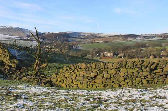 Diggle winter's afternoon