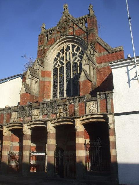 Former Unitarian Church, Merthyr Tydfil