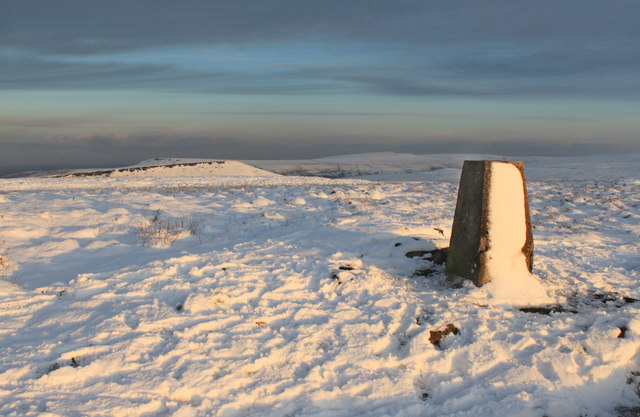 Triangulation point on Millstone Edge