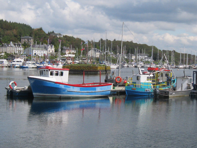 Fishing boats at Tarbert