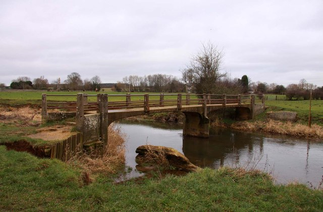 White Bridge over the River Cherwell