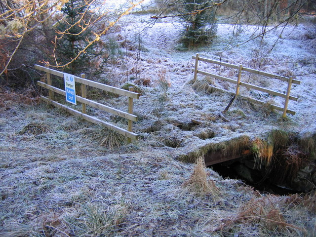 Old bridge over the Black Burn