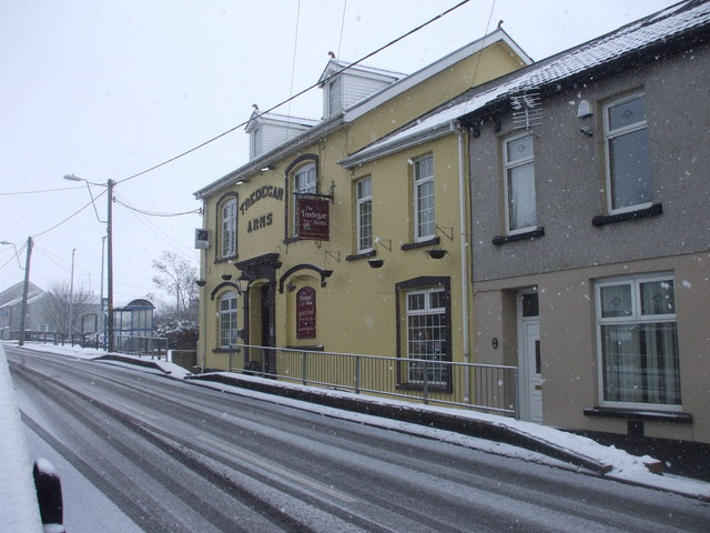 The Tredegar Arms, Dowlais Top