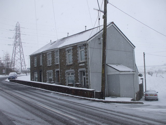 New Houses, Dowlais Top