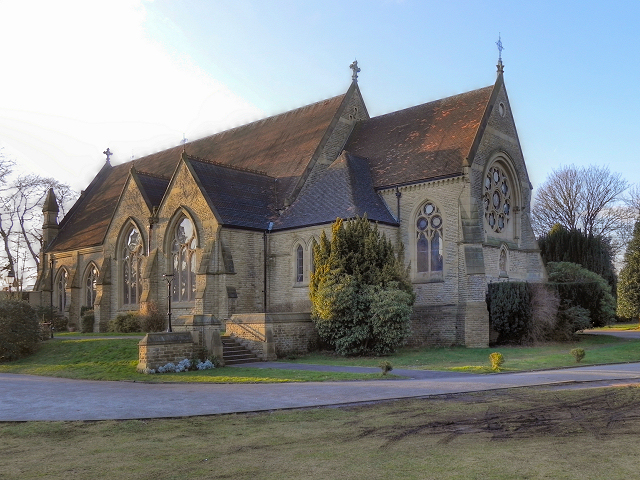 The Parish Church of St John the Divine, Brooklands