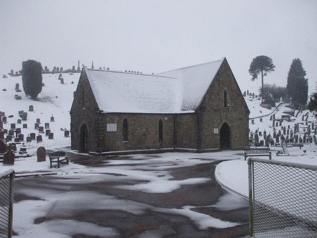 Chapel, Pant Cemetery