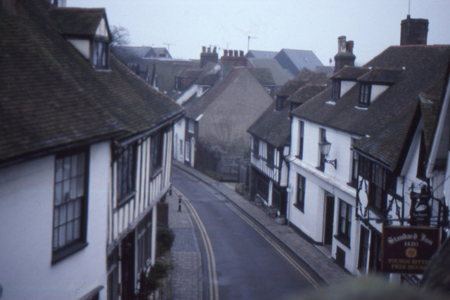 Rye: The Mint, from an upstairs window