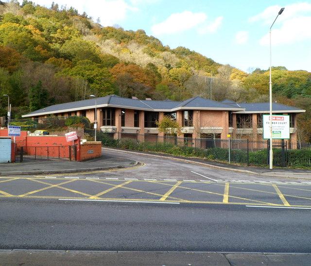 Former Rhondda Magistrates Court for sale, Llwynypia