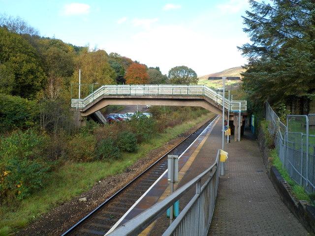 Llwynypia railway station