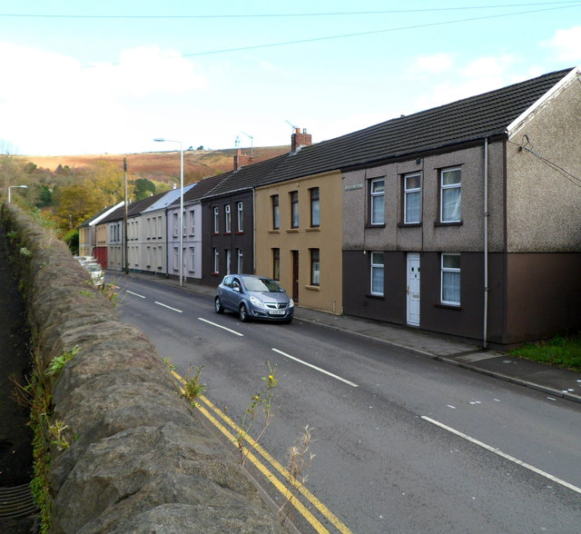 Salem Terrace houses, Llwynypia
