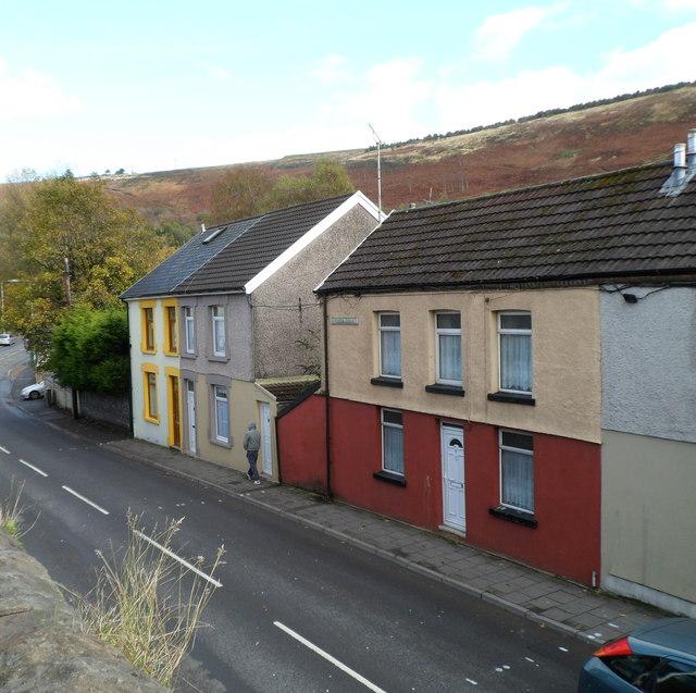 Rhondda Terrace, Llwynypia
