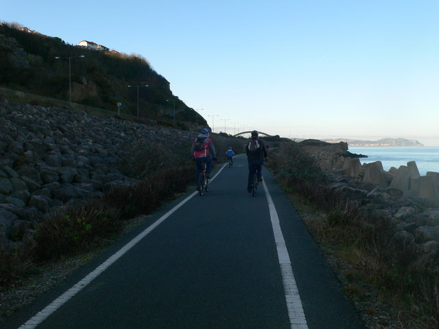 Sustrans Path No.5 and All Wales Coastal Path