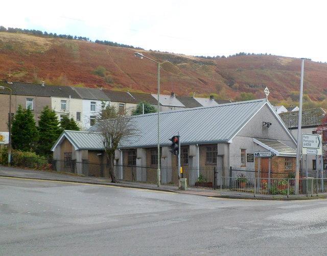 St Cynon's church, Llwynypia