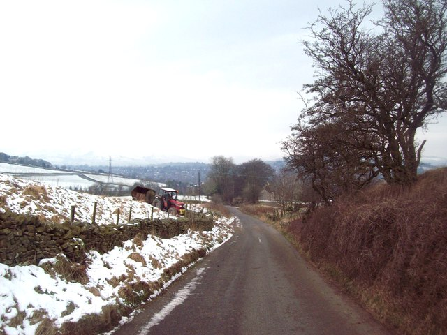 Lane above Blackbrook