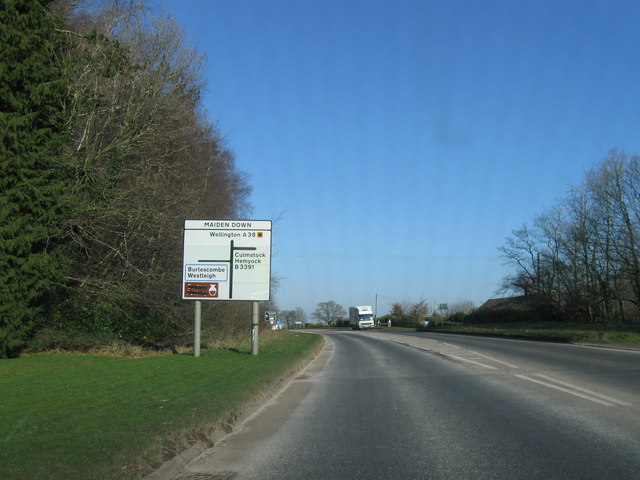 A38 Maiden Down junction