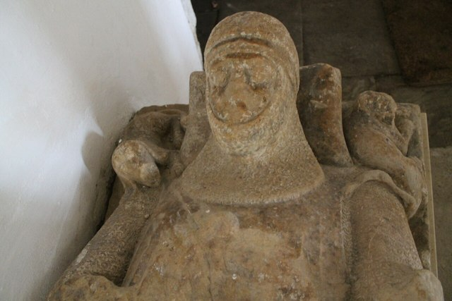 Effigy of Knight, St Peter's church, Kingerby
