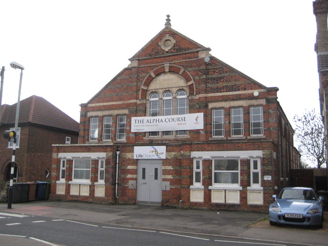 Fletton: Life Church, formerly the United Methodist Free Church