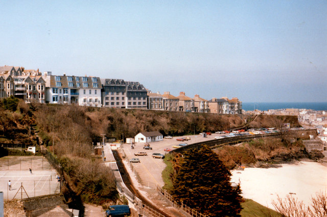 St Ives Porthminster Beach & Station April 1986