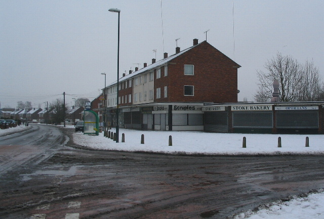 Shops, Winsford Avenue