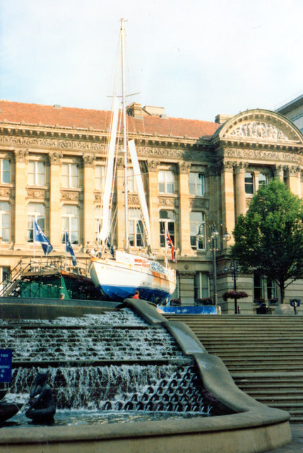 """""""The Spirit of Birmingham"""" Outside Council House 1995"""