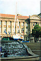 SP0686 : &quot;The Spirit of Birmingham&quot; Outside Council House 1995 by Roy Hughes