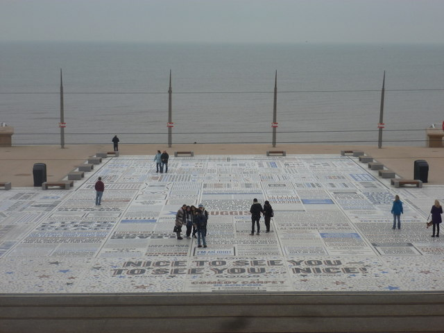Blackpool: the Comedy Carpet