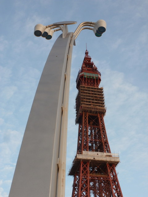 Blackpool: Comedy Carpet lamppost