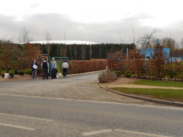 Entrance to Carrington Training Ground