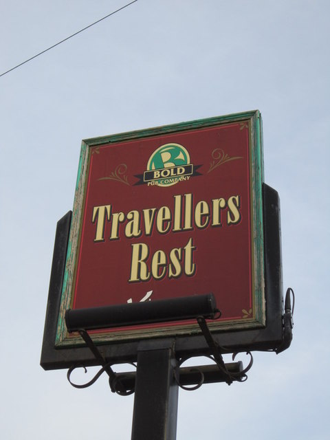 The Travellers Rest public house