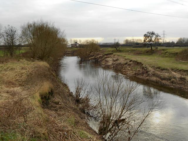 River Mersey, Flixton