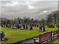 SJ7693 : Urmston Cemetery by David Dixon
